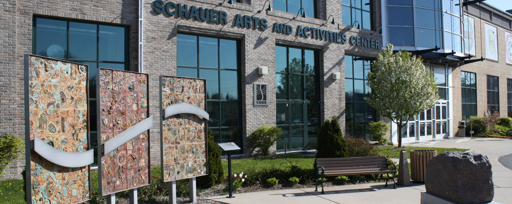 Schauer Arts Center building exterior